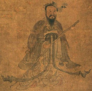 Depiction of Qu Yuan by Ming dynasty painter Chen Hongshou (1598-1652). (Public domain image)
